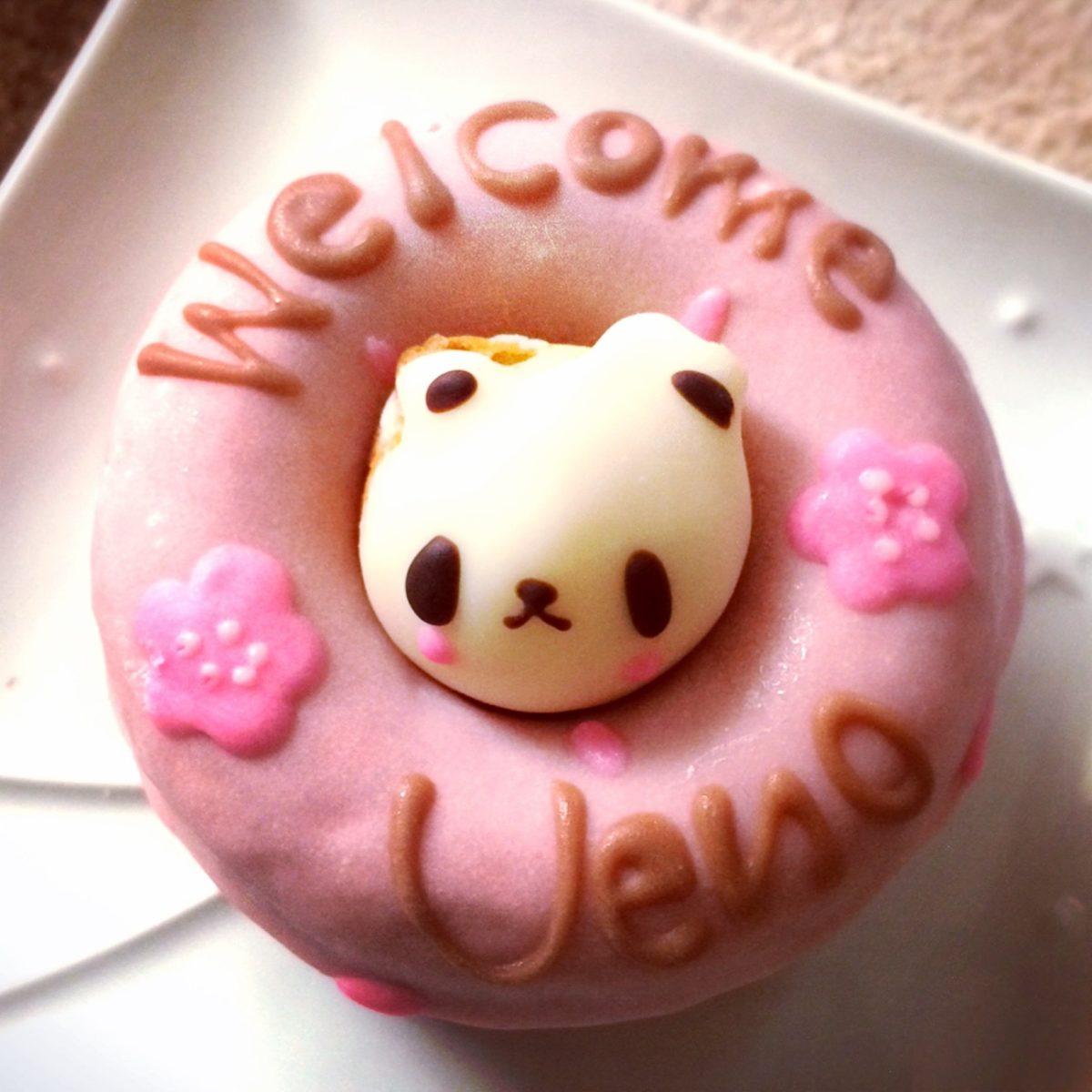 上野のおみやげはここ シレトコドーナツ 桜色コパンダを買ってみた